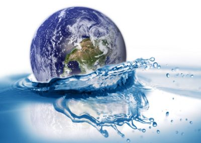 Earth-in-water